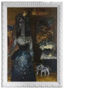 oprawa obrazu Jerzego Piotrowicza