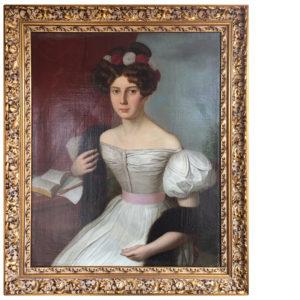 oprawa XIX-wiecznego obrazu