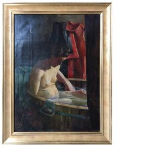 oprawa obrazu Wojciecha Weissa